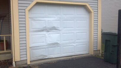 Garage Door Panel Replacement Cleveland Oh Wood Steel